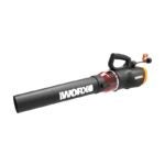 The Best Leaf Blower Option: WORX WG520 Turbine 600 Corded Electric Leaf Blower
