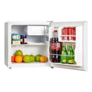 最佳迷你冰箱选项:Midea WHS-65LW1紧凑型冰箱,1.6立方英尺
