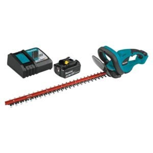 The Best Power Hedge Trimmer Option: Makita 18V Lithium-Ion Cordless Hedge Trimmer Kit