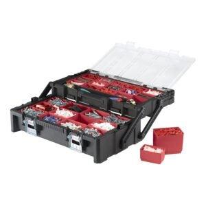 最佳工具箱选择:Keter 22英寸树脂悬臂工具箱
