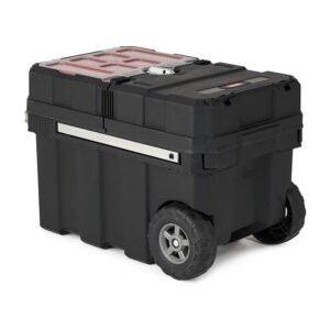 最佳工具箱选择:Keter Masterloader树脂滚动工具箱