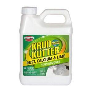 最好的乙烯基壁板清洁剂选择:Krud Kutter生锈钙和石灰污渍去除剂