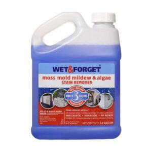 The Best Vinyl Siding Cleaner Option: Wet & Forget Moss Mold Mildew & Algae Stain Remover
