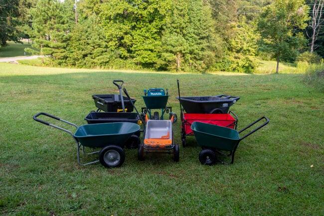 The Best Wheelbarrow Options