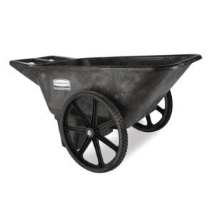 The Best Wheelbarrow Option: Rubbermaid Commercial Products Yard Cart 7.5 cu. ft.