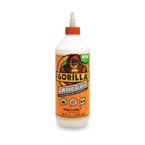 The Best Wood Glue Option: Gorilla 6206005 Wood Glue