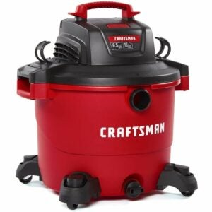 The Best Wet/Dry Vacuum Option: CRAFTSMAN 16 Gallon 6.5 Peak HP Wet/Dry Vac