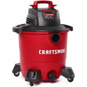 The Best Wet/Dry Vacuum Option: CRAFTSMAN 9 Gallon 4.25 Peak HP Wet/Dry Vac