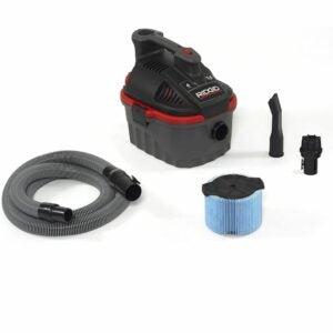 The Best Wet/Dry Vacuum Option: RIDGID Portable 4-Gallon 5.0 HP Motor Wet Dry Vacuum