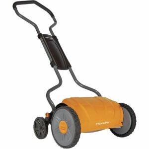 The Best Reel Mower Option: Fiskars 17 Inch Staysharp Push Reel Lawn Mower