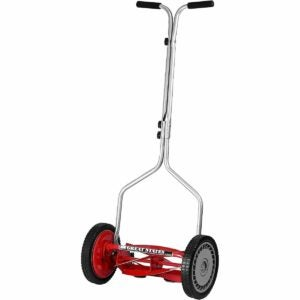 The Best Reel Mower Option: Great States 14-Inch 5-Blade Push Reel Lawn Mower
