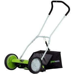 The Best Reel Mower Option: Greenworks 16-Inch Reel Lawn Mower