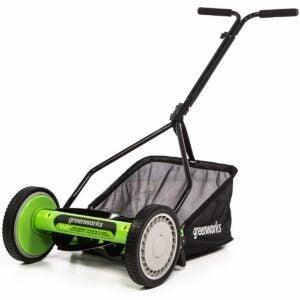 The Best Reel Mower Option: Greenworks RM1400 14-Inch Lawn Mower