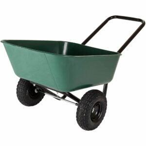 The Best Sheelbarrow Option: Garden Star Garden Barrow Dual-Wheel Wheelbarrow