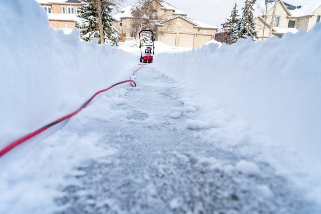 Fuel Options for a Snow Blower vs. Snow Thrower