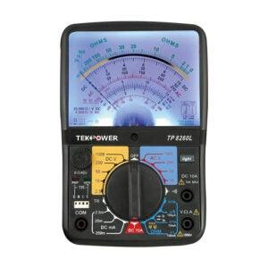 The Best Multimeter Option: Tekpower TP8260L Analog Multimeter
