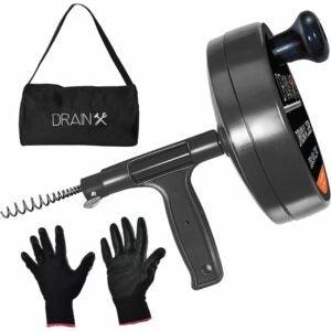 The Best Drain Snake Option: Drainx Pro Steel Drum Auger Plumbing Snake