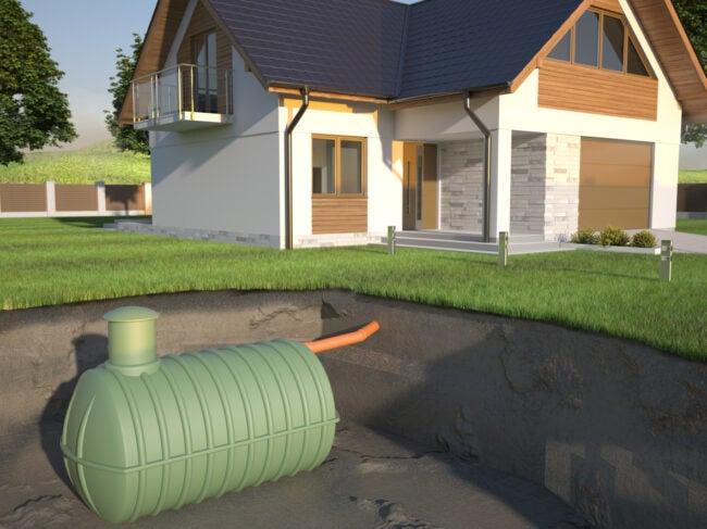 septic system septic tank diagram
