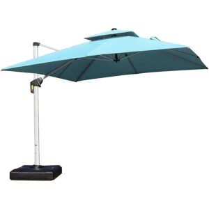 Best Patio Umbrella: PURPLE LEAF