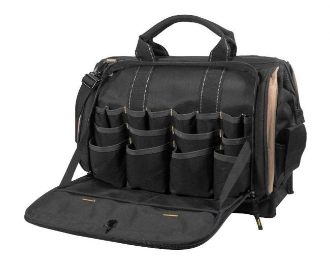 The Best Tool Bag Option: CLC CustomLeather Craft 1539 50-Pocket Multi-Compartment Tool Bag
