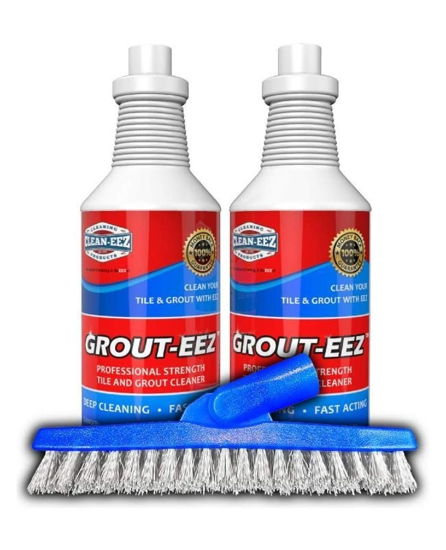 The Best Grout Cleaner Option: Grout-EEZ Super Heavy Duty Tile & Grout Cleaner and Whitener