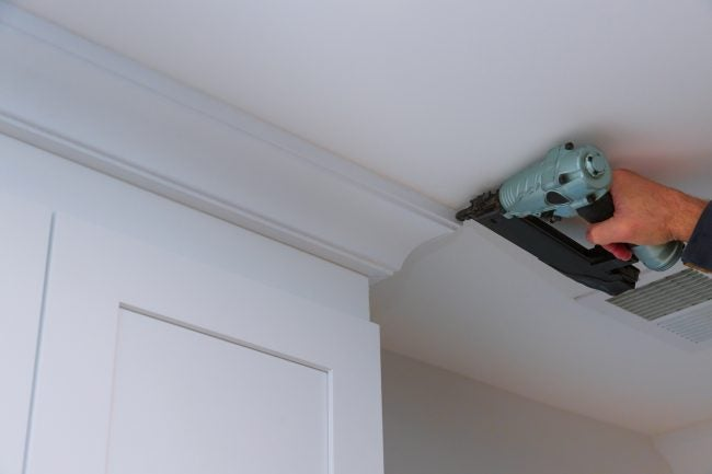 Tips for Installing Trim with a Nail Gun