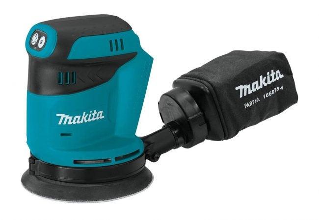 最好的轨道砂光机选项:Makita 18V随机轨道砂光机