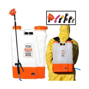 The Best Backpack Sprayer Option: Petra 4 Gallon Battery Powered Backpack Sprayer