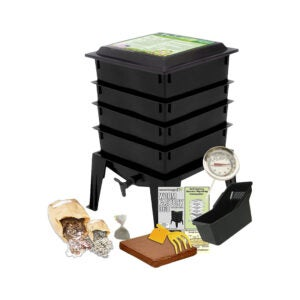 The Best Compost Bin Option: Worm Factory 360 US Made Composting System