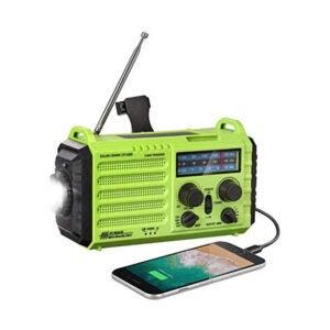 The Best Emergency Radio Options: ROCAM AM FM SW NOAA Hand Crank Solar Radio