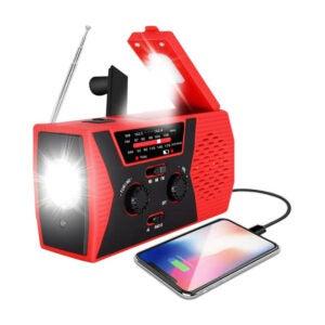 The Best Emergency Radio Options: RegeMoudal Emergency Solar Hand Crank Weather Radio