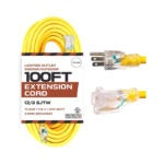 The Best Extension Cord Option: Iron Forge 100 Foot Outdoor Extension Cord