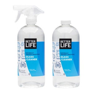 The Best Glass Cleaner Option: Better Life Natural Streak Free Glass Cleaner