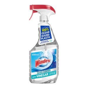 The Best Glass Cleaner Option: Windex Vinegar Multi-Surface Spray Glass Cleaner