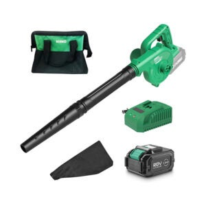 The Best Leaf Vacuum Option: K I M O. Cordless Leaf Blower