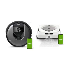 The Best Robot Mop Option: iRobot Roomba i7+ Vacuum with Braava Jet M6 Mop