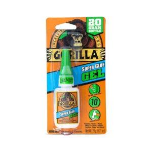 最佳强力胶选择:大猩猩7700104强力胶凝胶