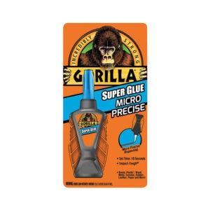 最佳强力胶选择:大猩猩微型精密强力胶