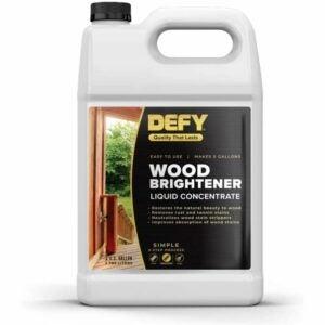 最好的甲板清洁剂选项:无视木材增白剂