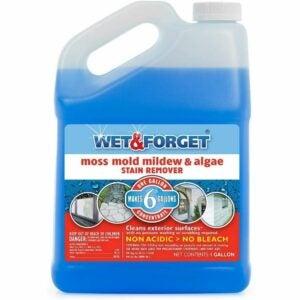 最好的甲板清洁选择:湿和忘记苔藓,霉菌,霉和藻类污渍