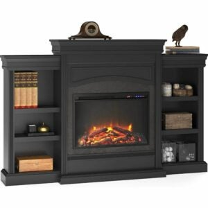 The Best Electric Fireplace Option: Ameriwood Home Lamont Mantel Fireplace