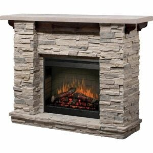 The Best Electric Fireplace Option: Dimplex Featherston Electric Fireplace Mantel Package