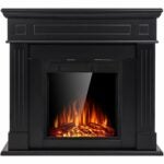 The Best Electric Fireplace Option: JAMFLY Electric Fireplace Wooden Surround Firebox