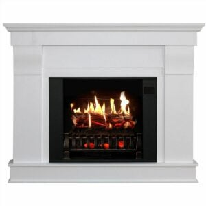 The Best Electric Fireplace Option: MagikFlame Holographic Electric Fireplace Touchscreen