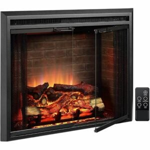 The Best Electric Fireplace Option: PuraFlame Klaus Electric Fireplace Insert
