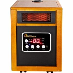 The Best Garage Heater Option: Dr. Infrared Heater Portable Space Heater Humidifier