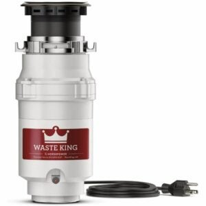 The Best Garbage Disposal Option: Waste King L-1001 Garbage Disposal with Power Cord