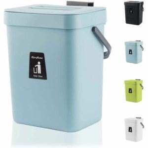 The Best Kitchen Trash Can Option: KaryHome Hanging Small Trash Can