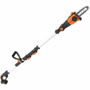 The Best Pole Saw Option: WORX 2-in-1 Attachment Capable 20V Pole Saw