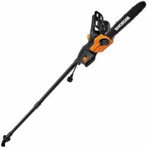 "The Best Pole Saw Option: WORX WG309 8 Amp 10"" 2-In-1 Electric Pole Saw"